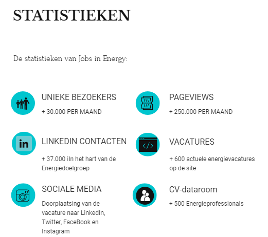 Jobs in Energy Statistieken 2019