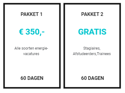 vacaturepakket 2019 jobs in energy